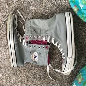 Converse lace up sneakers